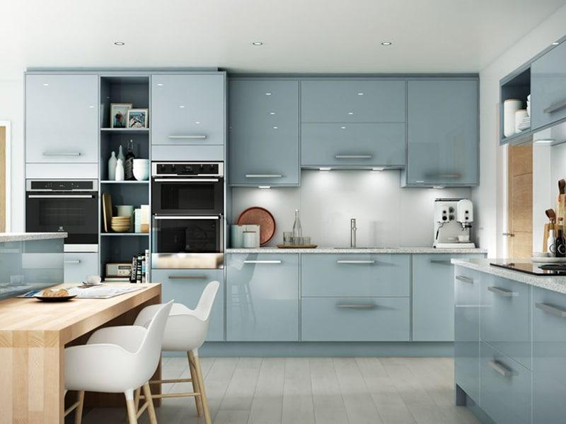 Tủ Bếp Acrylic – TB14