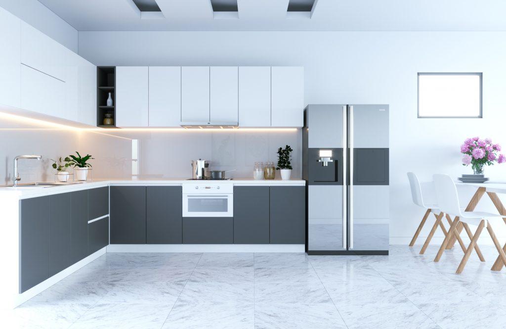 Tủ Bếp Acrylic – TB18