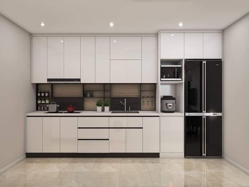Tủ Bếp Acrylic – TB16