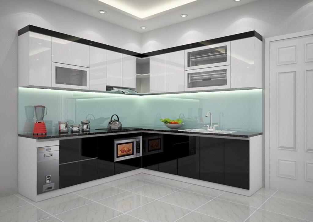 Tủ Bếp Acrylic – TBO9