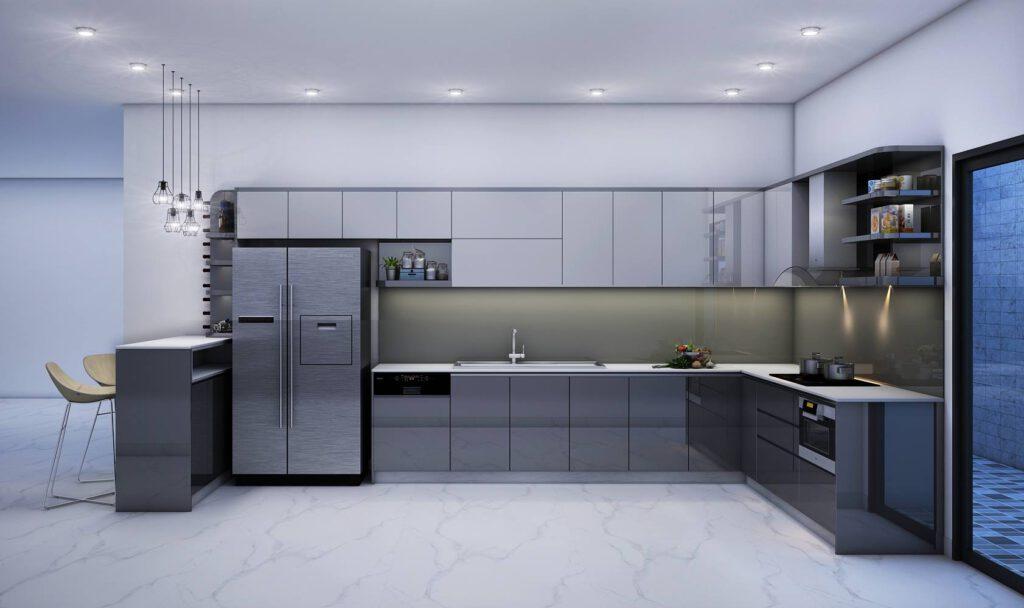 Tủ Bếp Acrylic – TB19