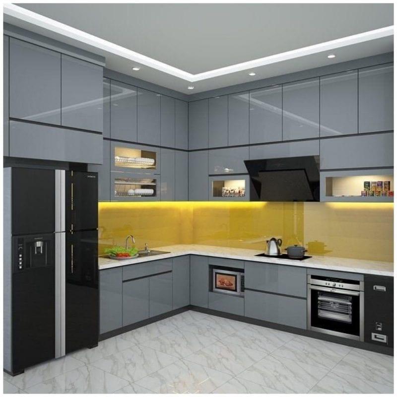 Tủ Bếp Acrylic – TB10
