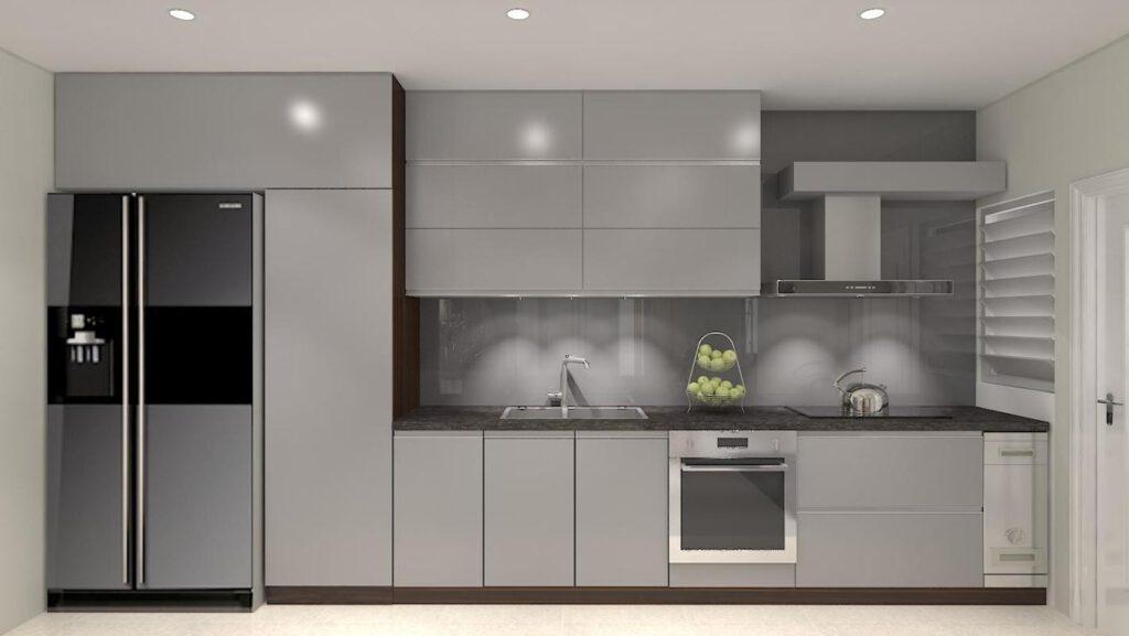 Tủ Bếp Acrylic – TB11